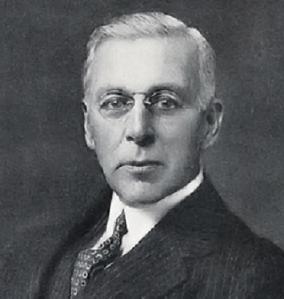 Philanthropist Edward Harkness